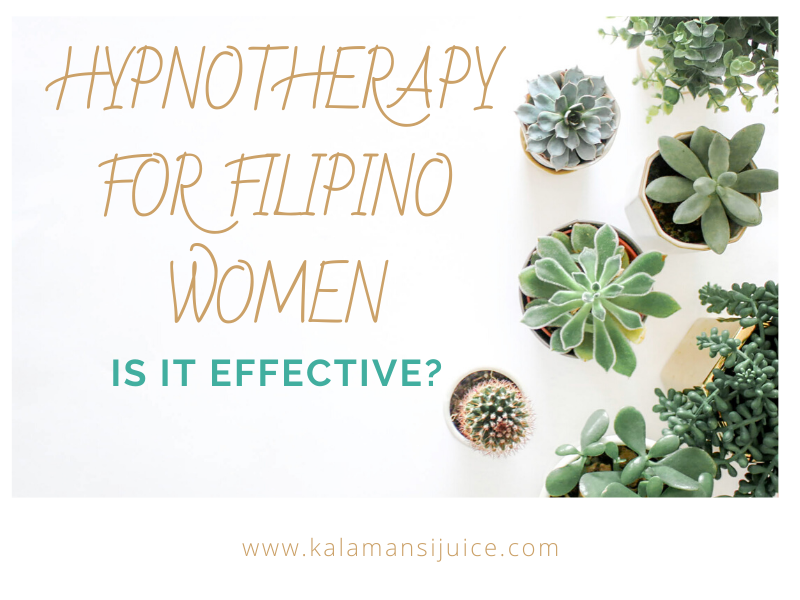 hypnotherapy for filipino women