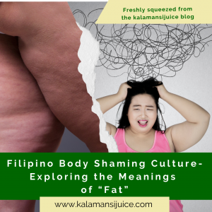 Filipinos on body shaming