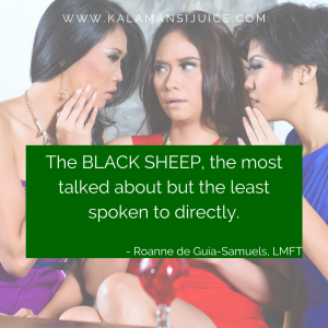 talking about the black sheep in family