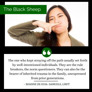 black sheep filipino culture