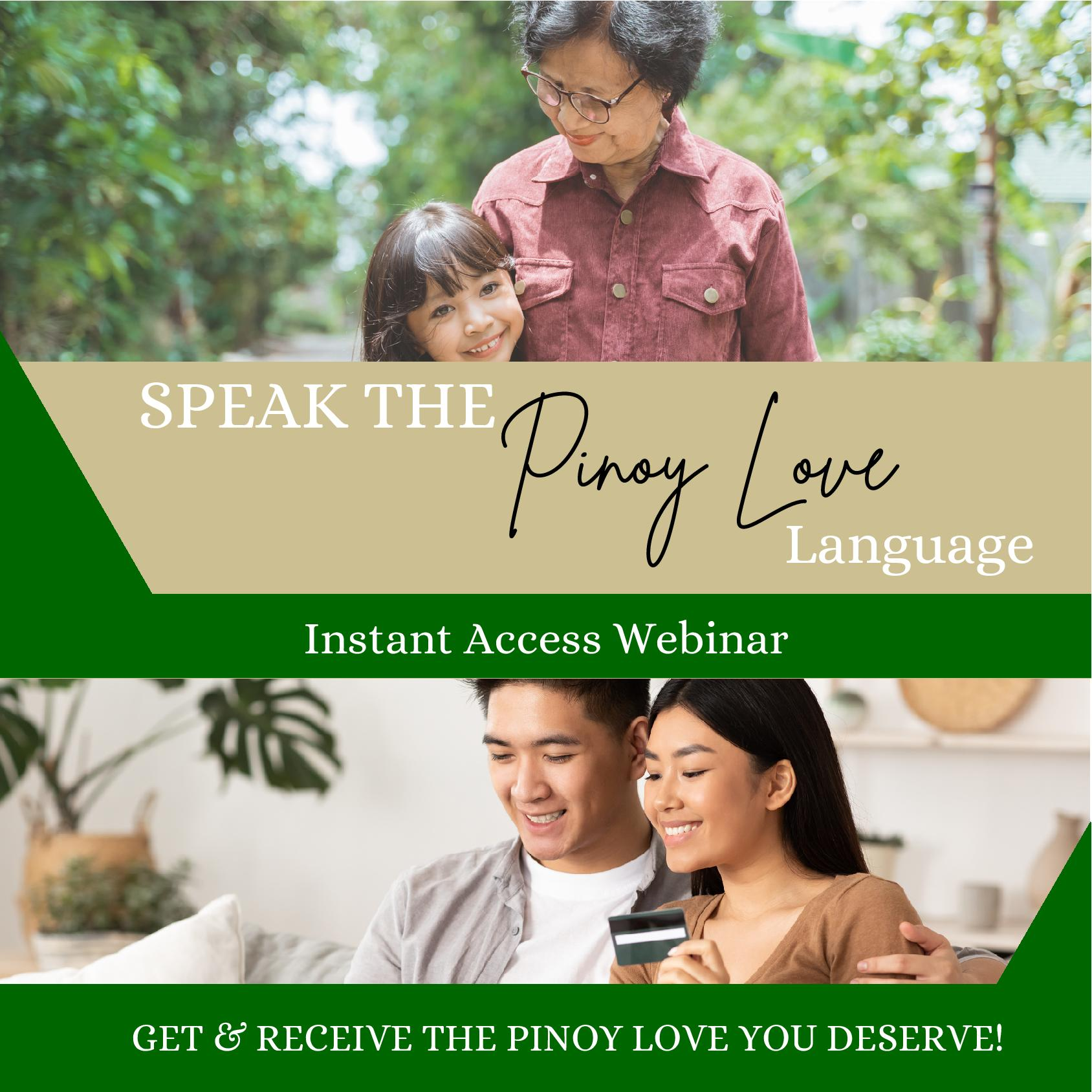 pinoy love language